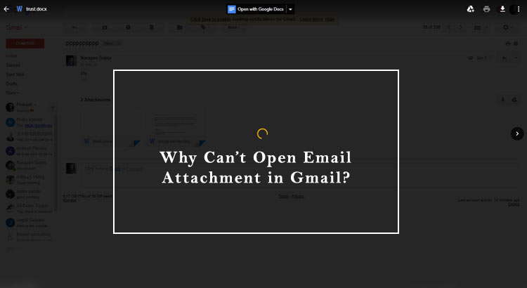 Can't Open Email Attachment in Gmail? Fix Issue with Tech Prompts