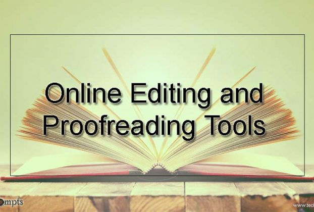 Online Editing and Proofreading Tools